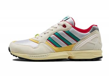 adidas ZX 6000 Throwback Collection Creme Red Yellow FU8405