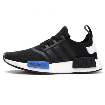 Adidas NMD R1 Runner Nomad Boost Core Black Tan Tab White