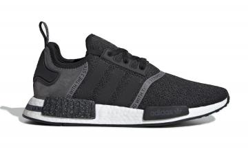 adidas NMD R1 Black White Speckle Core Grey Four F36801