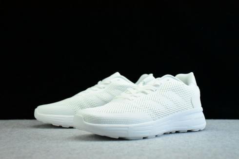 2018 adidas neo CLOUDFOAM PURE All White - Yezshoes