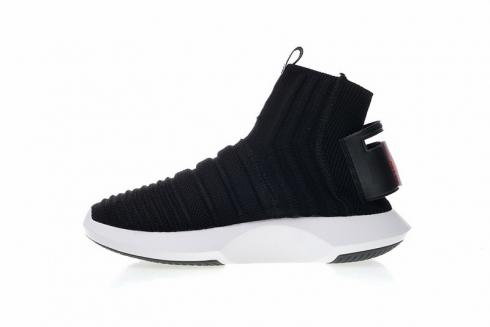 Adidas Crazy 1 ADV Sock Primeknit Running White Black CQ0983
