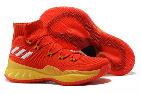 Adidas Crazy Explosive 2017 Men Basketball Shoes All Star Red Yellow BY4470