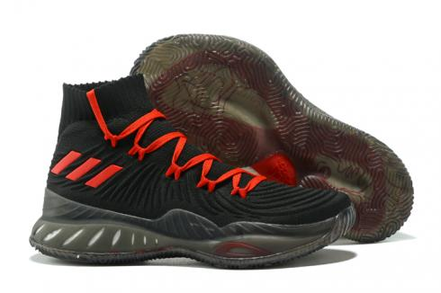 Adidas Crazy Explosive 2017 Men Basketball Shoes Black Red Grey