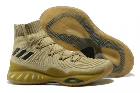 Adidas Crazy Explosive 2017 Men Basketball Shoes Khaki Black BY4470