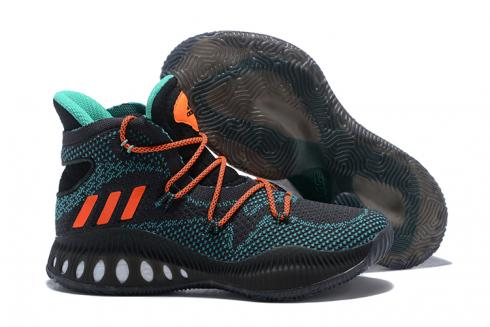Adidas Crazy Explosive 2017 PK Men Basketball Shoes Black Orange BY4450