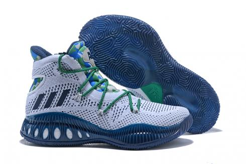 Adidas Crazy Explosive 2017 PK Men Basketball Shoes White Blue BY4450