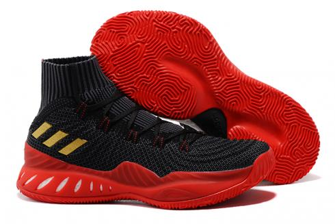 Adidas Crazy Explosive Boost PK Men Basketball Shoes Black Red Gold