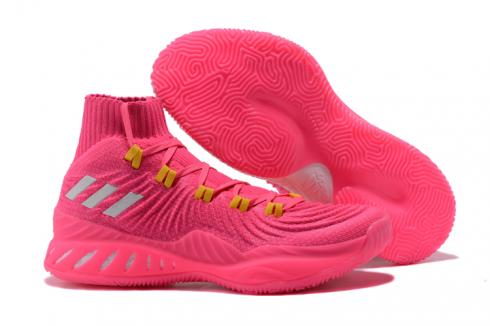 Adidas Crazy Explosive Boost PK Men Basketball Shoes Pink All