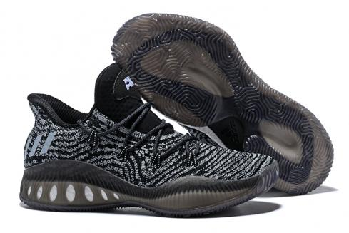 Adidas Crazy Explosive Boost Low PK Men Basketball Shoes Black Blue White