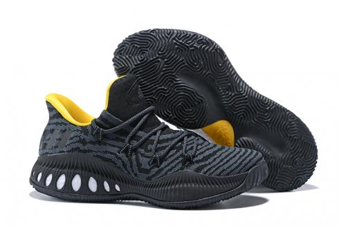 Adidas Crazy Explosive Boost Low PK Men Basketball Shoes Black Yellow CQ0578
