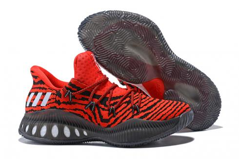 Adidas Crazy Explosive Boost Low PK Men Basketball Shoes Red White BB8347
