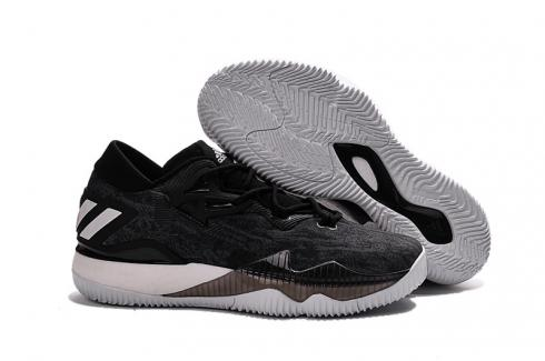 Adidas Crazy Light Boost 2.5 Low Men Basketball Shoes Black White