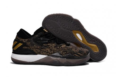 Adidas Crazy Light Boost 2.5 Low Men Basketball Shoes Cafe Gold