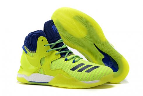 Adidas D Rose 7 Rose High Men Basketball Yellow Blue