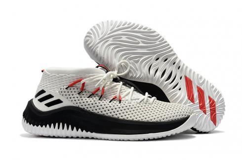 D Lillard Basketball Shoes White Black