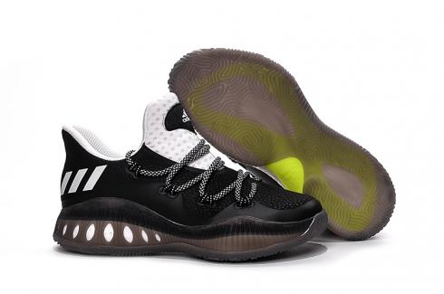 Adidas J Wall 3 Men Basketball Shoes Low Black White New
