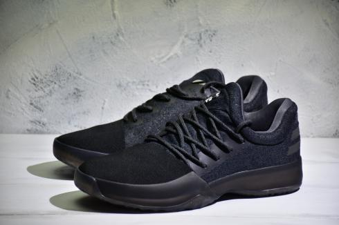 Adidas Harden Vol 1 Men Basketball Shoes Black Grey