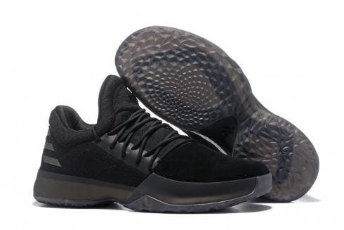 Adidas Harden Vol 1 Men Basketball Shoes Black Grey Hot