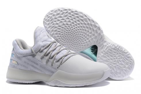 Adidas Harden Vol 1 Men Basketball Shoes Light Grey All Hot