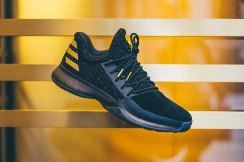 adidas Harden Vol. 1 Imma Be A Star Core Black Metallic Gold BW0545