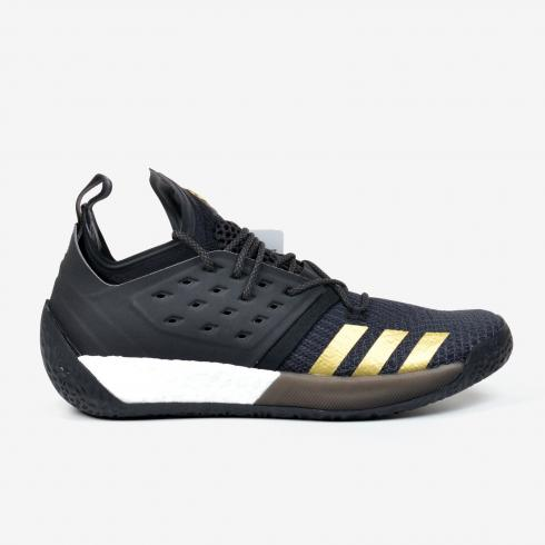 Adidas Harden Vol 2 Imma Be a Star Black Gold Basketball Shoes Primeknit AH2215