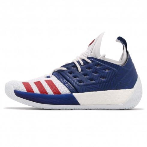 adidas Harden Vol 2 Mystery Ink Cloud White Blue Tint AQ0026