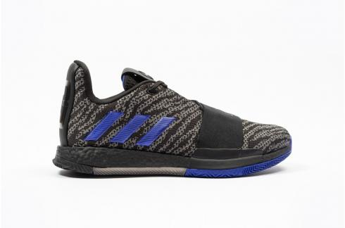 Adidas Harden Vol 3 Core Black Active Blue G26811