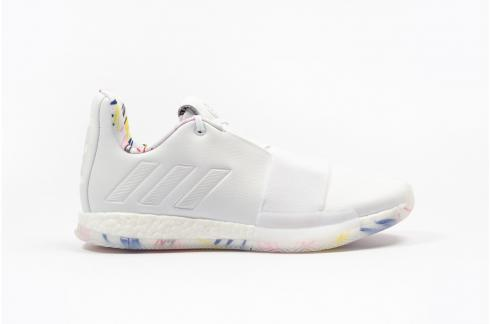 Adidas Harden Vol 3 Core White Basketball Shoes G54022