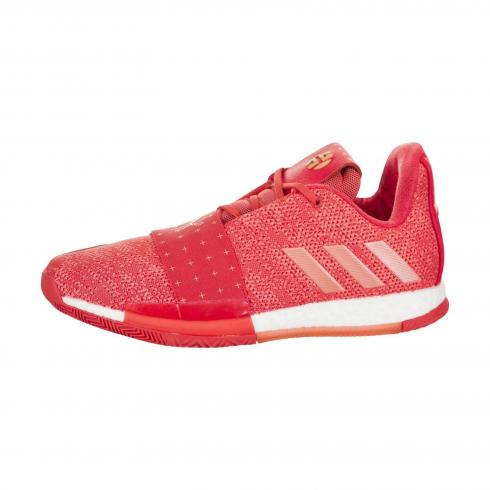 Adidas Harden Vol 3 Easy Coral Real Coral Chalk Coral D96990