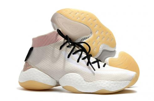 Pharrell Adidas Crazy BYW PW Boost White Pink