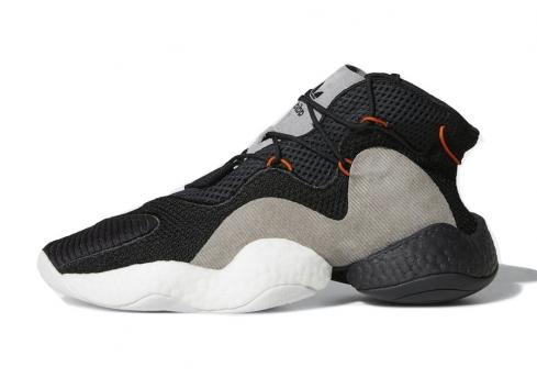 adidas Crazy BYW Carbon Core Black Orange Hi Res Red CQ0993