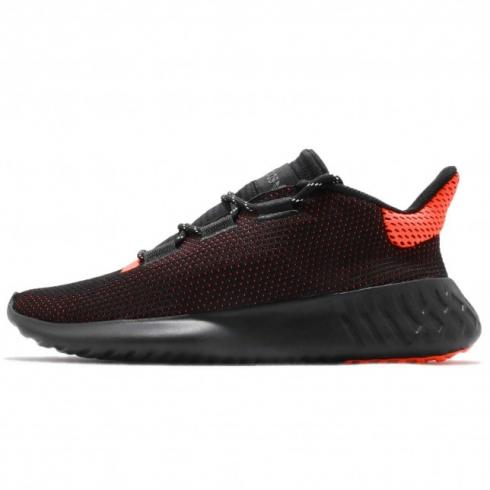 adidas Tubular Dusk Core Black Solar Red Footwear White AQ1189