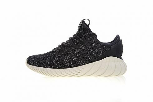 Adidas Tubular Doom Sock Black Silver Casual Shoes BY9337