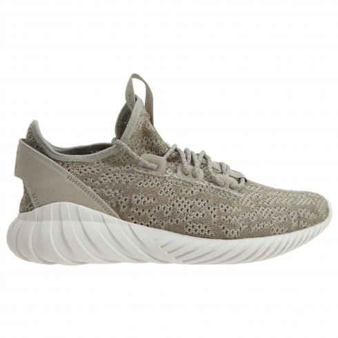 Adidas Tubular Doom Sock Primeknit Shoes Beige White BY3561