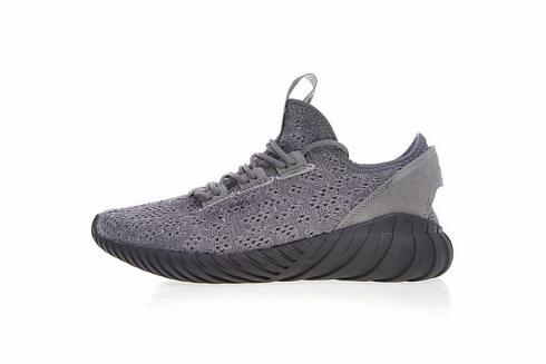 Adidas Tubular Doom Sock Primeknit Shoes Grey Black BY3564