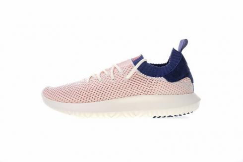 Adidas Tubular Shadow Primeknit Desaturated Pink Navy AC8793