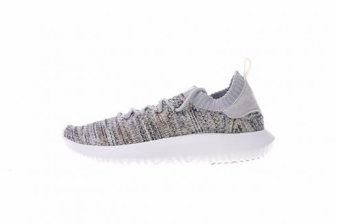 Adidas Tubular Shadow Primeknit Grey White AQ1181