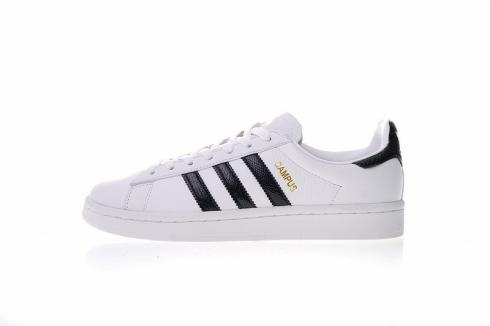 Adidas Originals Campus Athletic Sneakers Leather White Shoes CQ2074