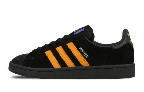 Porter x Adidas Yoshida Campus Core Black Orange B28143