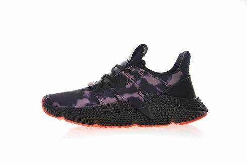 Adidas Originals Prophere Bleached Black Solar Red DB1982