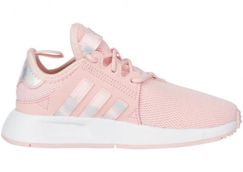 Adidas Childrens X PLR Ice Pink White F36934
