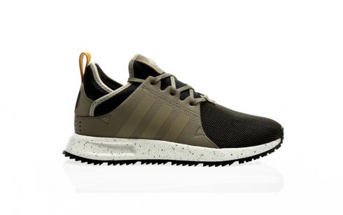 Adidas Originals X PLR Boot Trainers In Green BZ0670