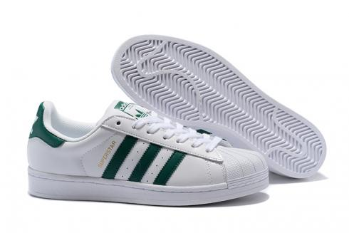Adidas SuperStar Boost SB Shoes White Green