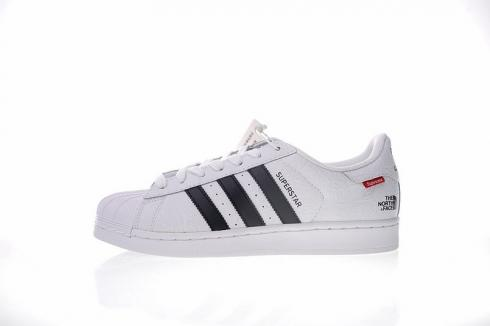 Adidas x Superstar x The North Face White Black BB5335