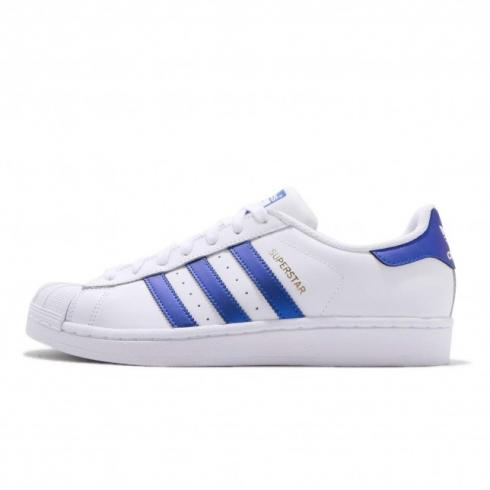 adidas Superstar Footwear White Core Navy Gold Met D98000