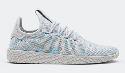 Pharrell x adidas Tennis Hu Pink Blue BY2671