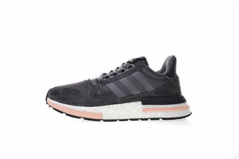 Adidas Originals ZX 500 Rm Boost Grey Clear Orange Sneakers B42217