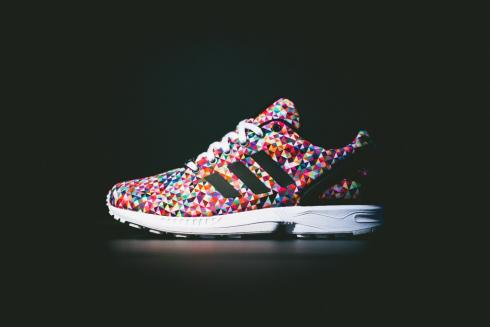 adidas ZX Flux Multi Color Prism Multicolor M19845