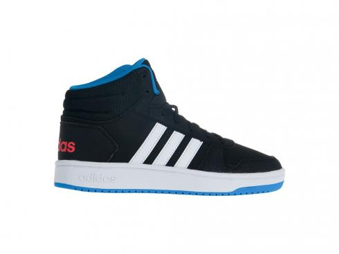 Adidas HOOPS 2 Mid Blue Core Black White DB1479