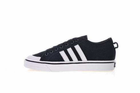 Adidas Nizza Blanc Bordeaux Low Black White CQ2332